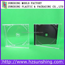 Top Quality&Factory Price Clear/Black 10.4mm Jewel CDR Packaging Boxes