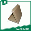 RECTANGLE RECYCLE BROWN KRAFT PAPER PACKING BOX