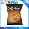custom printing food grade plastic bags for potato chips with zip lock