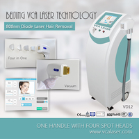 fast plug/diode laser hair removal