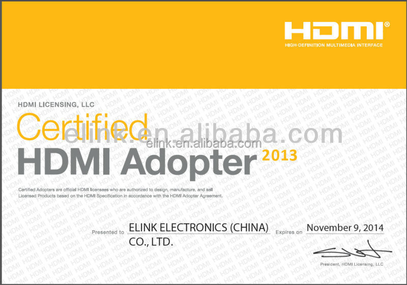 High speed 1080p 4K golden HDMI to micro HDMI cable for tablet mobile phones made in cable factory shenzhen supplier