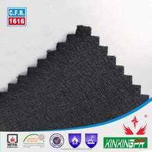 235gsm100% cotton eco-friendly knitting antifire interlock fabric for sweater