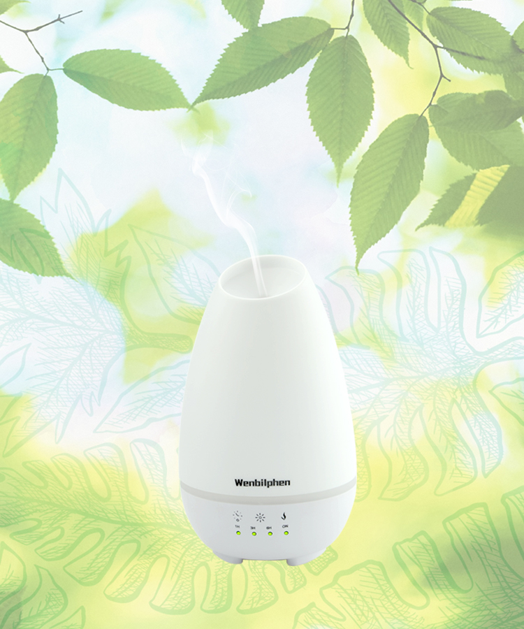 500ML Hot Sale On Amazon Ultrasonic Electric Aroma Diffuser To Keep You Energetic