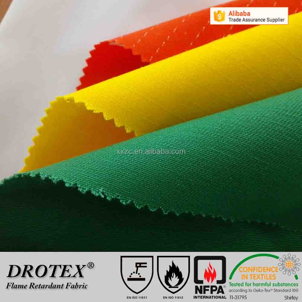 Chemical Fireproof Fabric Nomex 3a Meta Aramid Fabric For Firefighting Clothing