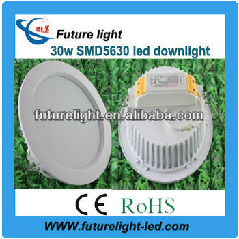 ip44 samsung 5630 led downlight 30w