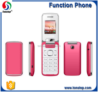 "Rose 1.8"" flip big sound and big battery cheap custom phones for woman"