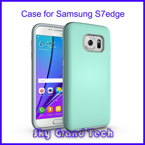 hot new products combo tpu pc mobile phone cover for samsung galaxy s7 edge case