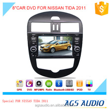 "8""special touch screen for NISSAN TIDA AUTO 2011 Car radio with DVD Player GPS navigation bluetooth RDS SD"