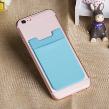 Mobile Accessories 3m sticker microfiber phone credit card case
