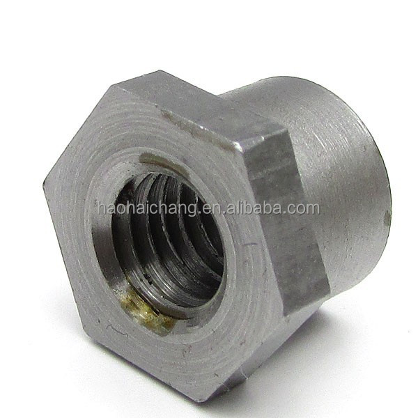 Precision stainless iron hex stud bolt and nut