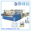 Full Automatic Trimming Sealing Embossing and Perforating Rewinder Kitchen Towel/Toilet tissue converting machine (WD-TP-RPM1092