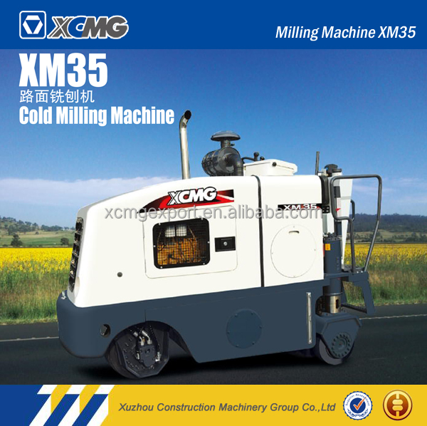 XCMG road asphalt milling machine with ISO