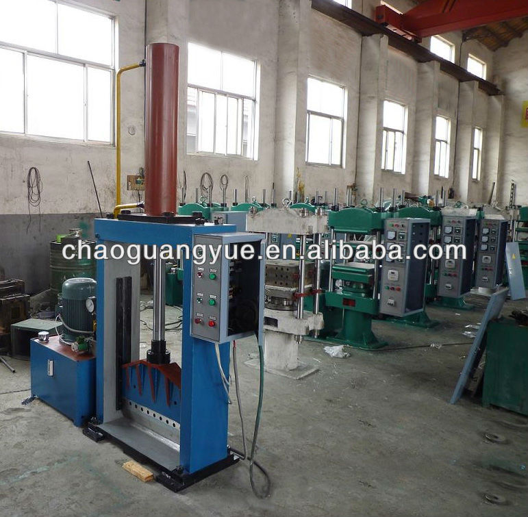 fully-automatic double-mould jaw vulcanzing machine