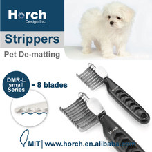 Dematting Rake Tool for long-hair remove undercoat dog pet