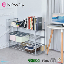 Well-Designed Plastic Shelf Display Shoe Rack Metal