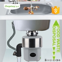 food waste disposer with auto reverse and time control function