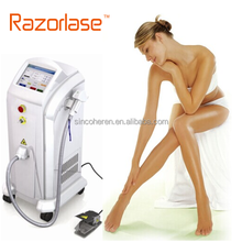 Beijing handle with big spot size diode laser 808 hair removal