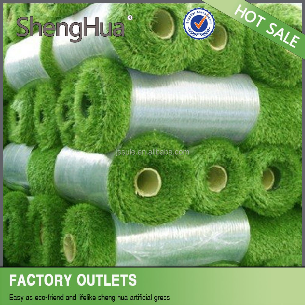 UV resistence artificial grass for football pitch/artificial grass rubber mat