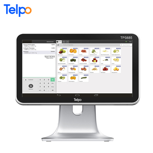 FHD screen touchscreen pos terminal for supermarket touch used machines system ticket printer