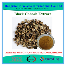Triterpene Glycosides 2.5%-8% HPLC Black Cohosh Extract With Kosher Halal ISO22000 Certificate