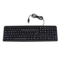 OEM usb wired standard keyboard accept small order 104 keys