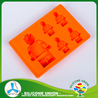 Good for promotion silicone cartoon ice moulds & chocolate molds