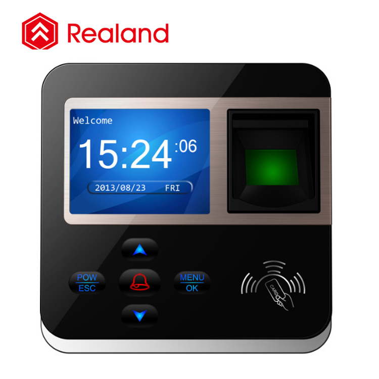 Realand M-F211 biometric security system access control fingerprint reader via rfid card