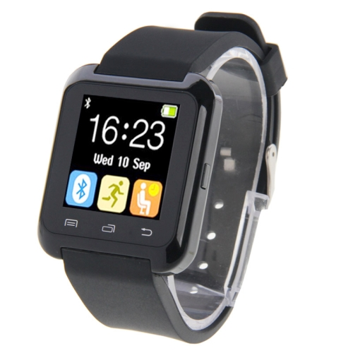 U80 Bluetooth Health Smart Watch 1.5 inch LCD Screen for Android Mobile Phone, Support Phone Call / Music / Pedometer / Sleep