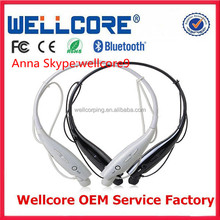 2014 new Hand free calling portable wireless mini stereo bluetooth wireless cell phone headset