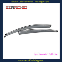injection side window deflectors for mazda 3 2011 use