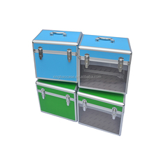Foshan Supplier Lockable Household Storage Box For Cosmetic Plastic Storage Trunk Case With Handle