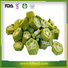 dehydrated vegetables chips freeze dried Okra vegetable food