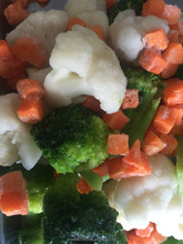 IQF Frozen California Mixed Vegetable with cauliflower floret, Broccoli Floret, And Carrot Slice