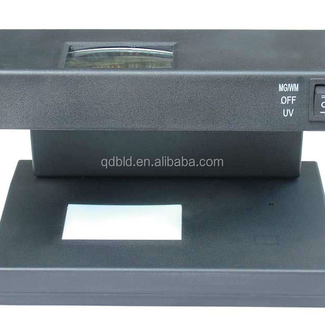 money detector,UV/magnetism/watermark/counterfeit with magnifying glass