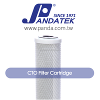 coconut-based carbon water purifier price list cto carbon filter, filter cartridge