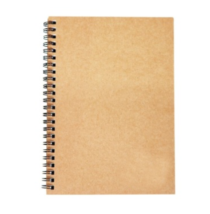 Kraft Paper Cover Student Spiral Exercise Book