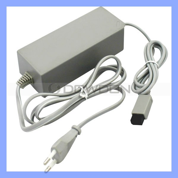 AC Power Adapter Charger for Wii Console