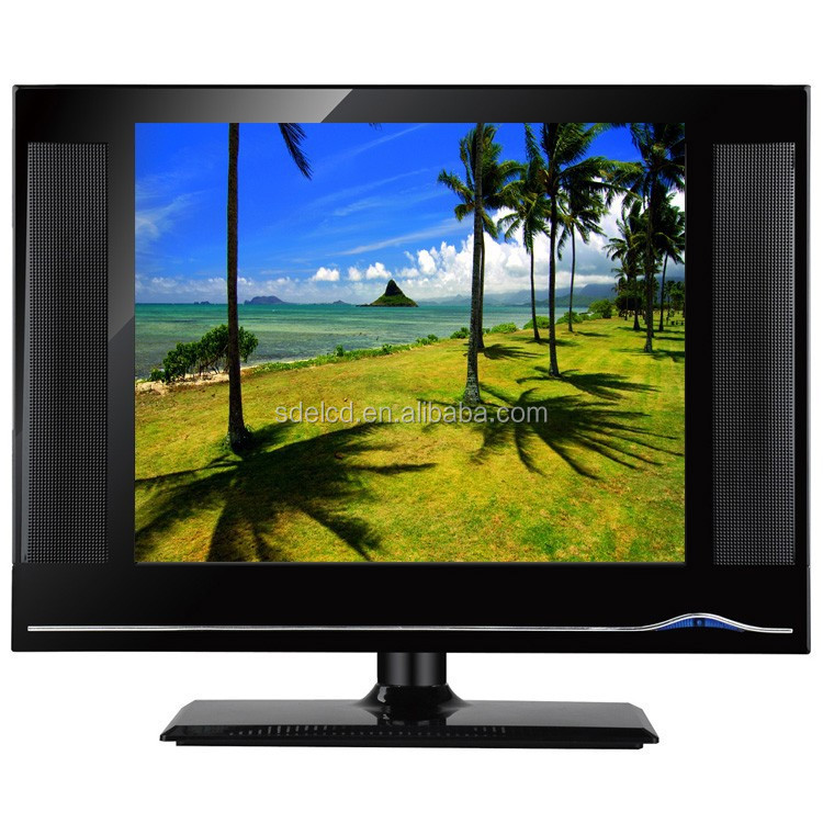 Factory price 15 inch square lcd tv/Chinese second hand lcd tv for sale