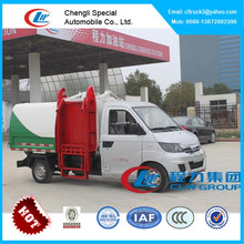 Karry garbage can cleaning truck,hydraulic lifter garbage truck
