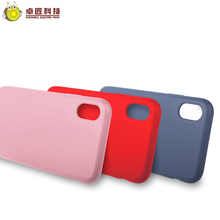 Silicone cell phone case for iphone x case covers for girls red shockproof anti scratch