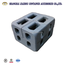 High quality corten Coated,Zinc Shop primer container Corner casting & corner fitting