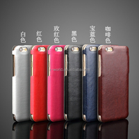 Debossed logo colorful heat press slim ultra thin leather cases for iphone 6/6s