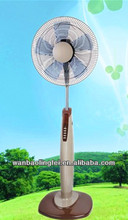 16 inch stand fan with 5-AS blades with luxury design and timer