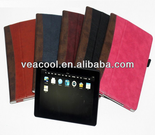 "Dual Color Handy Leather Case Cover for Amazon Kindle Fire HDX 8.9"" Handy Case"