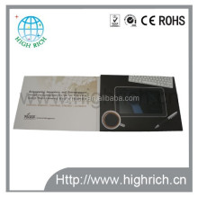 new product 7 inch video brochure with TFT LCD screen player for advertise Factory Support long-term