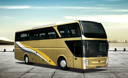 FOTON Double-decker full load hyundai city bus for sale