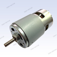 12v 24v dc small and powerful electric generator fan motor