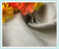 eco-friendly suitable woven plain dyed flax table cloth linen fabric