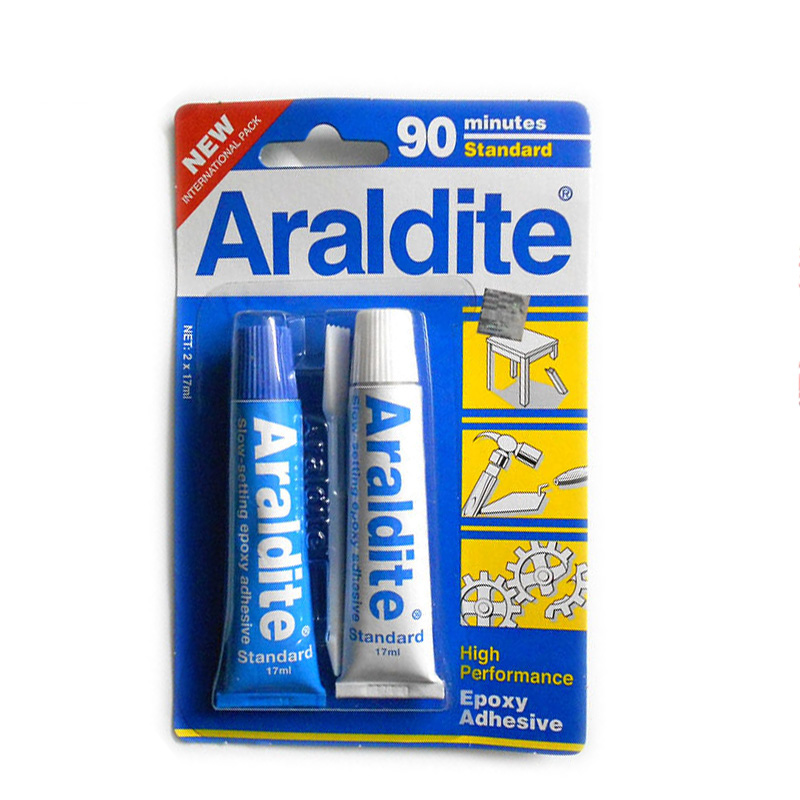HIGH Performance Epoxy Adhesive Araldite AB <strong>glue</strong> 90 minutes 17ml *2