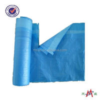 garbage bags for car/colored drawstring trash garbage bag made in china